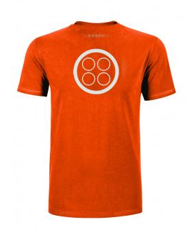 T-shirt logo Pagani orange