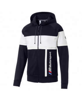 Sweat capuche zippé BMW Motorsport marine