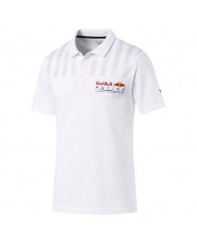 Polo Logo Red Bull Racing blanc