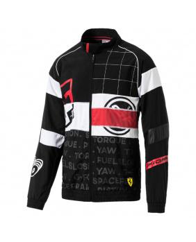 Veste zippée  Ferrari noir