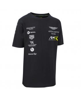 T-shirt enfant Aston Martin marine