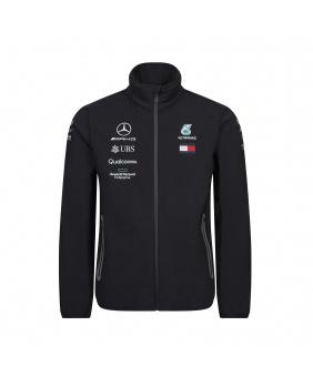 Veste softshell zippée Mercedes AMG noir