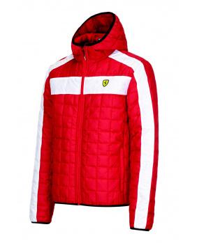 Blouson zippé Ferrari rouge