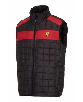 Gilet sans manches Ferrari noir