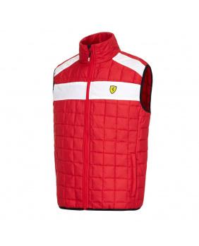 Gilet sans manches Ferrari rouge