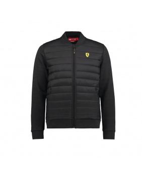 Veste zippée hybrid Ferrari noir