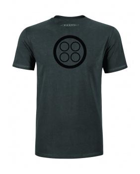 T-shirt Pagani gris anthracite