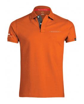Polo logo Pagani orange