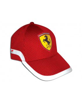 Casquette Track Ferrari rouge