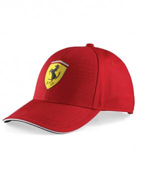 Casquette classique Ferrari rouge