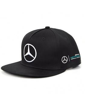 Casquette flat Hamilton Mercedes AMG noir