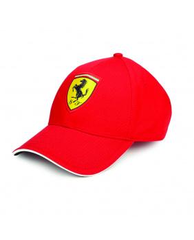 Casquette enfant Ferrari rouge