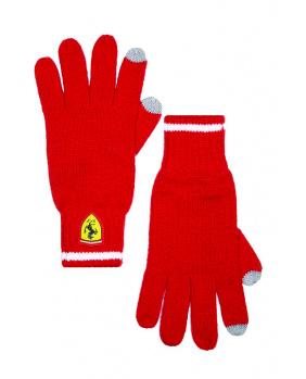 Gants Ferrari rouge
