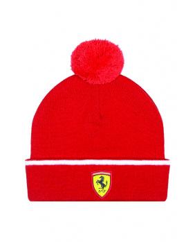 Bonnet enfant Ferrari rouge