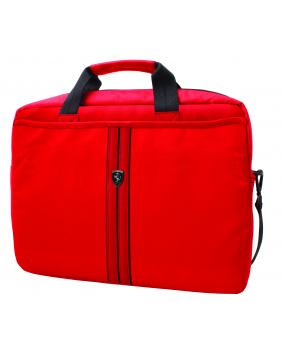 Porte documents Ferrari rouge