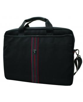 Porte documents Ferrari noir