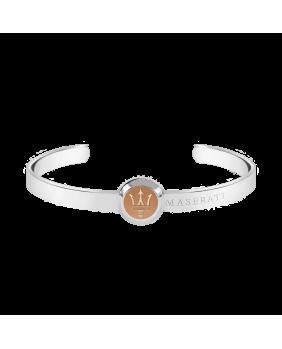 Bracelet rigide métal Maserati Argent
