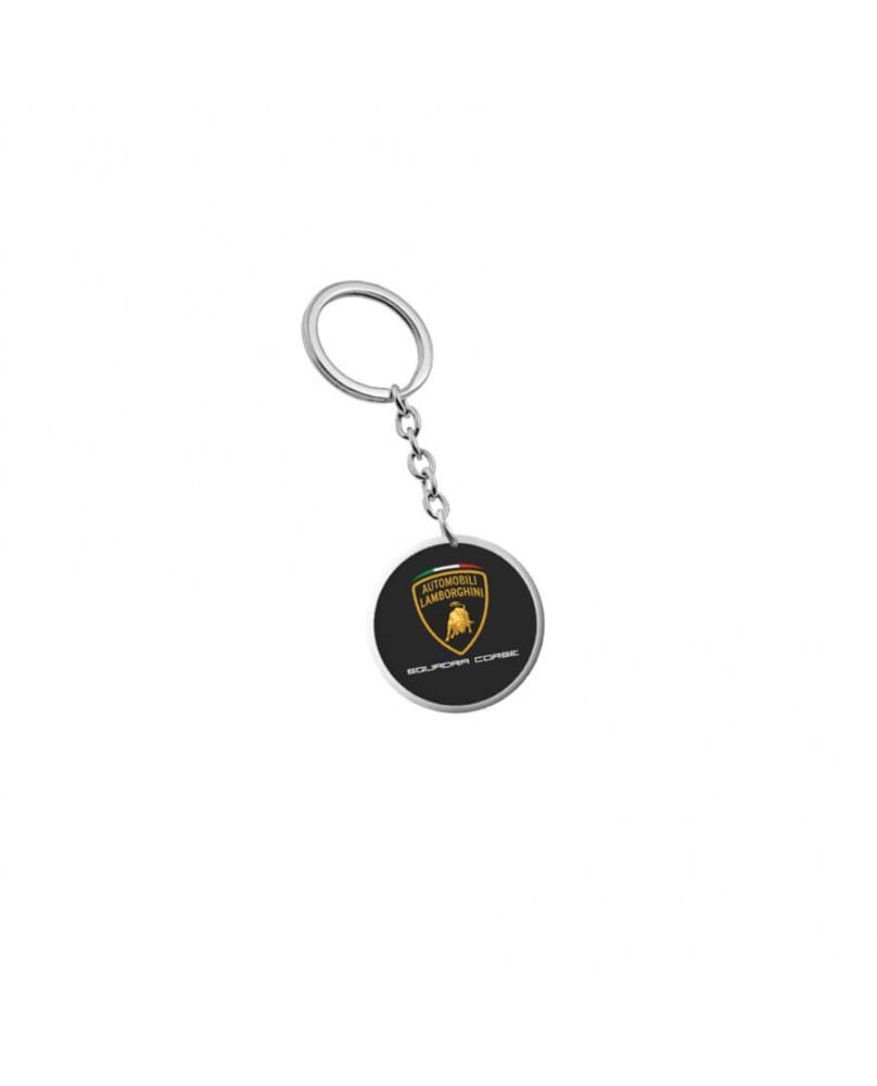 Porte-clés métal Lamborghini noir
