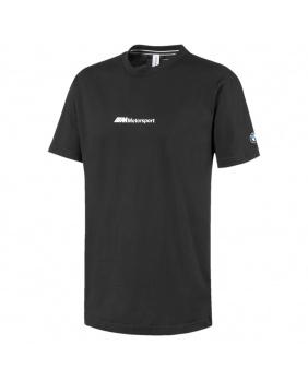 T-shirt graphic BMW Motorsport noir