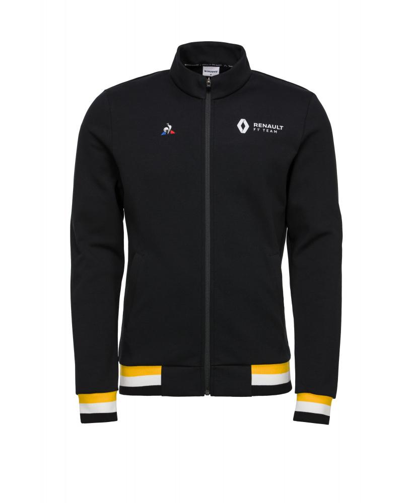 Sweat zippé Renault F1 team noir