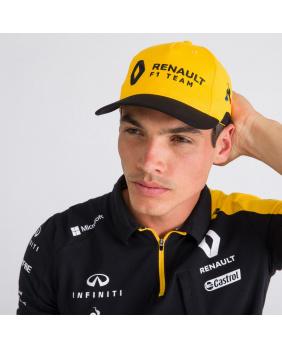 Casquette Renault F1 team noir et jaune