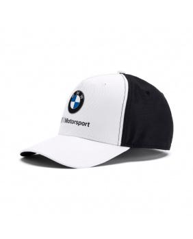 Casquette BMW Motorsport blanc et noir