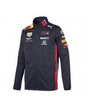 Softshell zippée Team Red Bull Racing marine