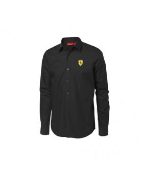 Chemise manches longues Ferrari noir