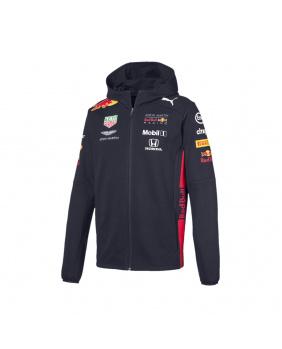 Sweat capuche zippé Team Red Bull Racing marine