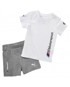 T-shirt +short bébé BMW