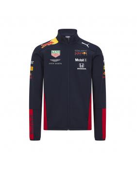 Veste Softshell zippée team Red Bull marine
