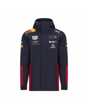 Coupe vent capuche zippé team Red Bull marine