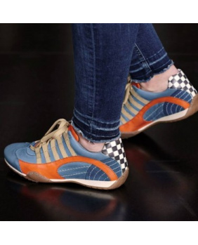 Chaussures hom Racing sneaker Gulf