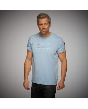 T-shirt 3D Gulf bleu ciel