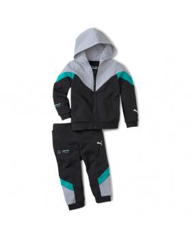 Pantalon+sweat bébé Mercedes AMG noir.gris