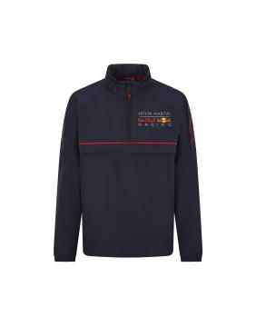 Coupe vent capuche zippée Red Bull marine