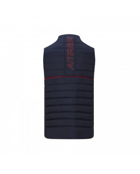 Doudoune sans manches zippé Red Bull marine