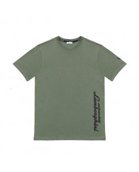 T-shirt Lamborghini vert