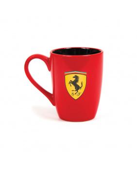 Mug Ferrari rouge-noir