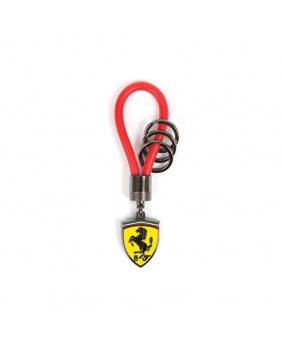 Porte-clés Ferrari rouge