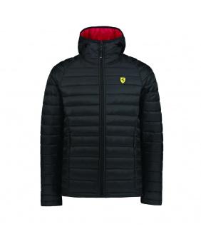 Veste softshell capuche zippée Ferrari noire