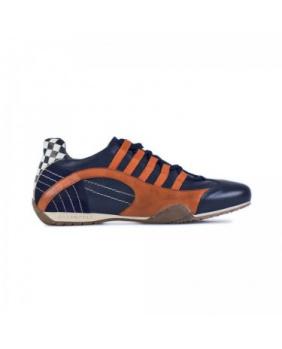 Chaussures Racing Gulf bleu indigo orange