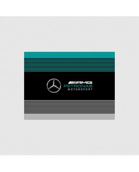 Drapeau Mercedes AMG noir