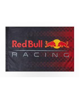 Drapeau Team Red Bull marine et rouge