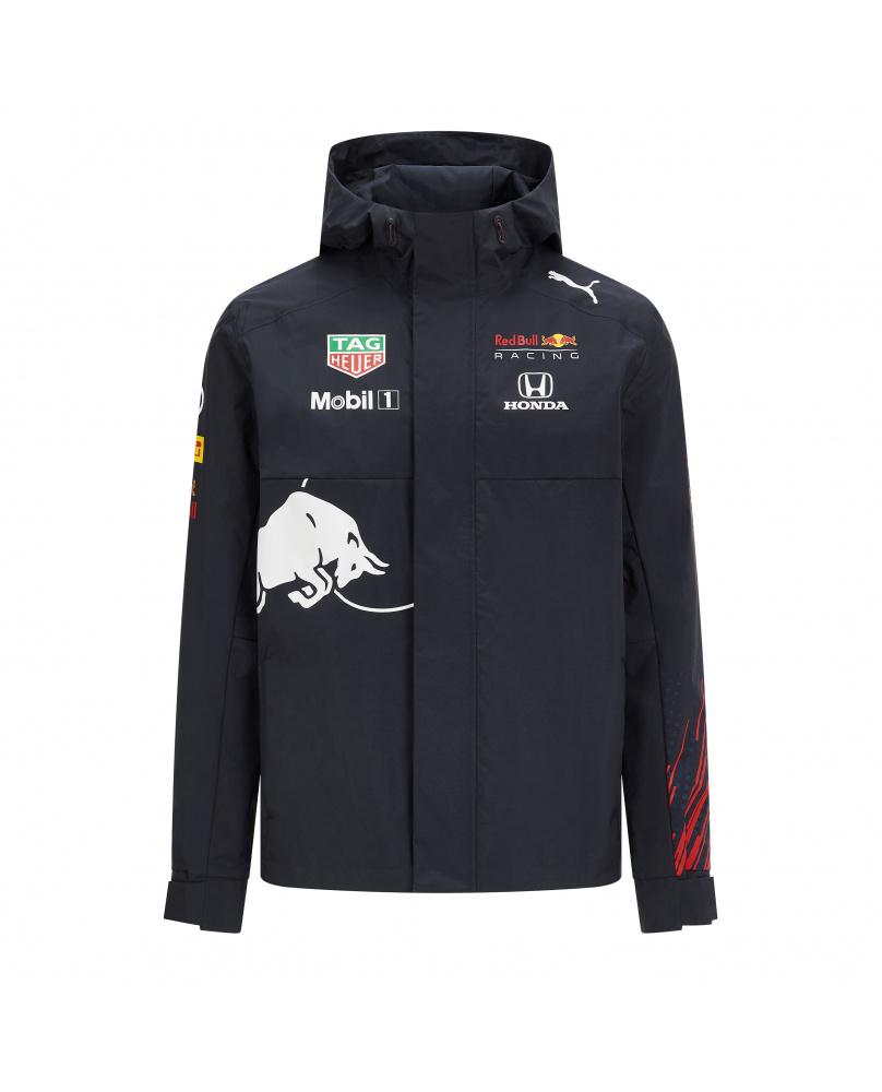 Coupe vent zippé capuche Team Red Bull marine