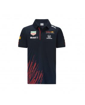 Polo enfant Team Red Bull marine