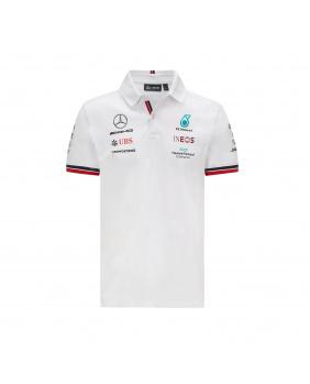 Polo Mercedes AMG blanc