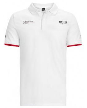 Polo Porsche blanc