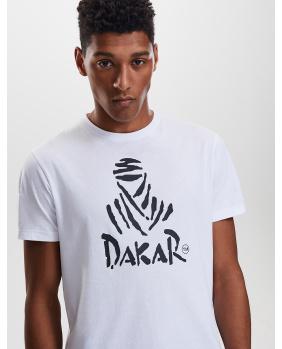 T-shirt Dakar blanc