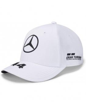 Casquette Hamilton Mercedes AMG blanche